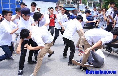 Nghị luận xã hội về nạn bạo lực học đường