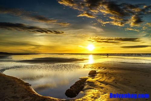Tả cảnh biển vào buổi sáng