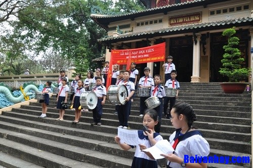 le ket nap doi vien - Viết đơn xin vào Đội Thiếu niên Tiền phong Hồ Chí Minh theo mẫu đơn đã học