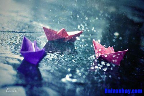 Tả cơn mưa mùa xuân