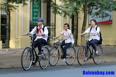 van ta chiec xe dap - Tả chiếc xe đạp của em