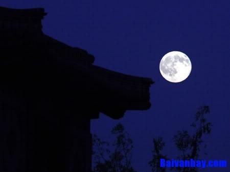 Tả cảnh một đêm trăng ở quê em mà em cảm thấy thích nhất
