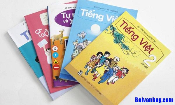 Giới thiệu và tả quyển sách tiếng việt lớp 2 của em