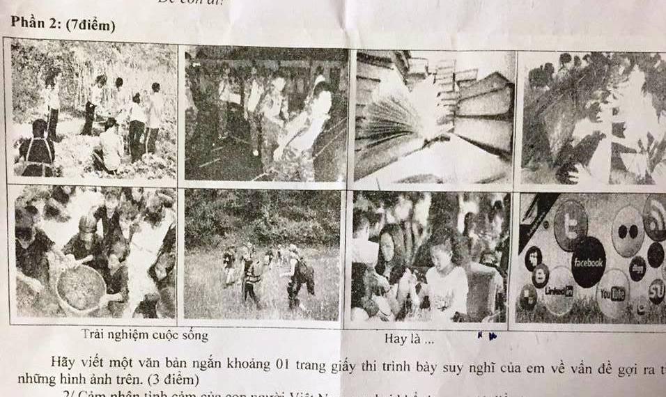"""""""Người Việt không biết xếp hàng"""" vào đề Văn lớp 9"""
