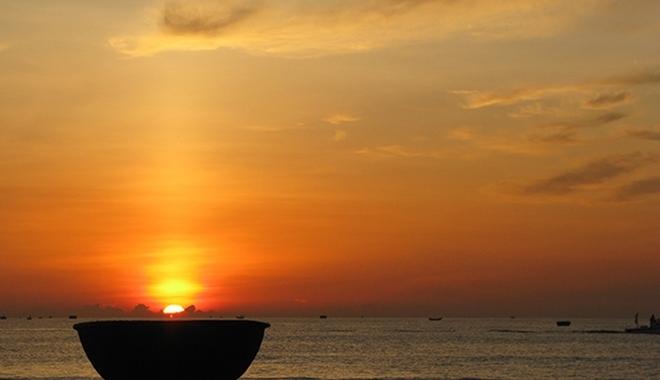 ta canh binh minh tren bien hay nhat - Tả cảnh bình minh trên biển hay nhất