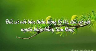 doi xu voi ban than bang ly tri doi xu voi nguoi khac bang tam long 310x165 - Nghị luận câu nói: Đối xử với bản thân bằng lý trí, đối xử với người khác bằng tấm lòng