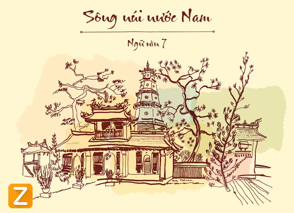 """SongnuinuocNam - Qua bài thơ """"Sông núi nước Nam"""" hãy làm sáng tỏ nội dung tinh thần yêu nước của thơ ca trung đại Việt Nam"""